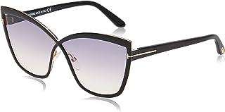 نظارات شمسية من توم فورد باطار اسود FT0715