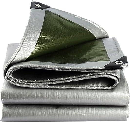 Bache Imperméable à l'eau de tissu de bache imperméable à l'eau de bache de prougeection solaire d'auvent d'auvent d'auvent d'abri épais d'épaisse, épaisseur 0.35mm, 180g   m2, options de 16 tailles, ve