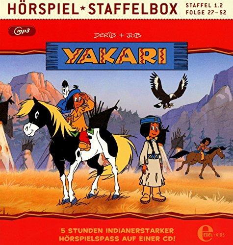 Yakari - Hörspiel Staffelbox - Staffel 1.2, Folge 27 bis 52 als mp3-CD - Die Original-Hörspiele zur TV-Serie