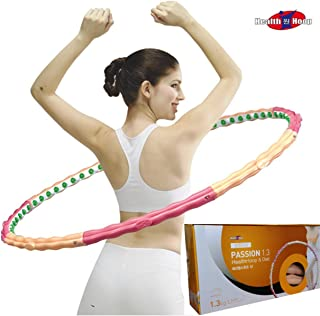 Health Hoop- Weighted Passion Hula Hoop for Fitness workout 2.86lb