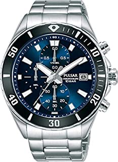 PULSAR Men's Analogue Quartz Watch with Stainless Steel Strap PM3187X1