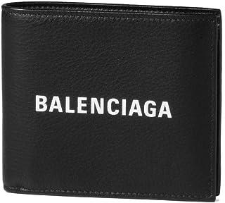 (バレンシアガ) BALENCIAGA 二つ折り財布 EVERYDAY ブラック 485108 DLQHN 1060 [並行輸入品]