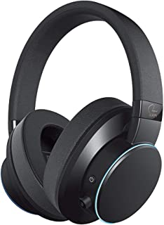 Creative SXFI AIR Bluetooth and USB Headphones with Super X-Fi Audio Holography, 50mm Drivers, microSD Card, Touch Control...