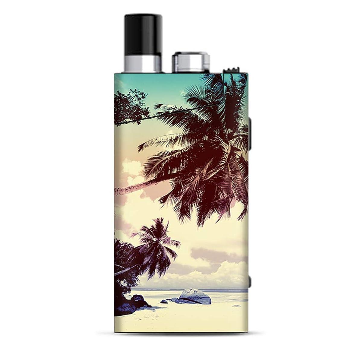 Skin Decal Vinyl Wrap for Smok Trinity Alpha Kit | Vape Stickers Skins Cover| Faded Beach Palm Tree Tropical