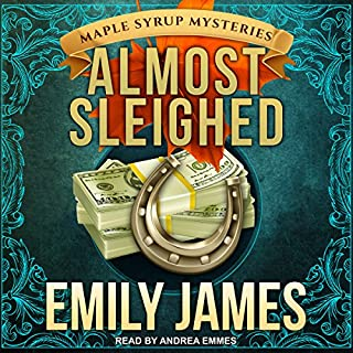 Almost Sleighed audiobook cover art