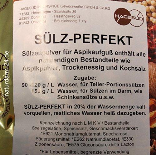 Hagesüd Sülz-Perfekt, Sülzenpulver mit Gewürzen, 1,5kg Beutel