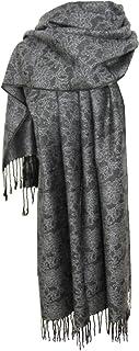 Nella-Mode Edler & Eleganter Schal, Stola - Florales Muster - viele Farben