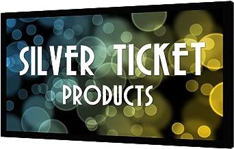 STR-169110-WAB Silver Ticket 4K Ultra HD Ready Cinema Format (6 Piece Fixed Frame) Projector Screen (16:9, 110