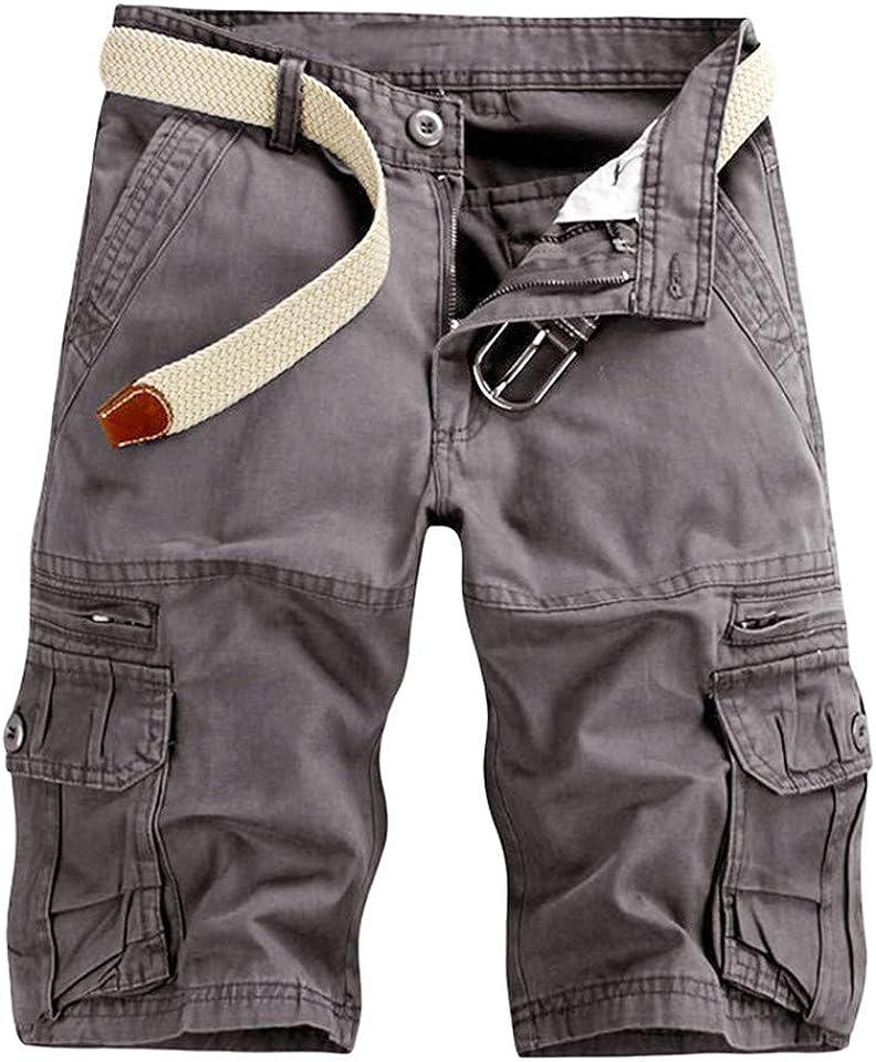 Cargo Kurze Hosen Herren Einfarbig Chino Jeans Bermuda Shorts Outdoor Taschen Gerade Tooling Shorts Sommer Freizeit Baggy Cargohose Streetwear