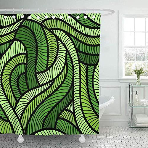 cortinas de baño naturaleza