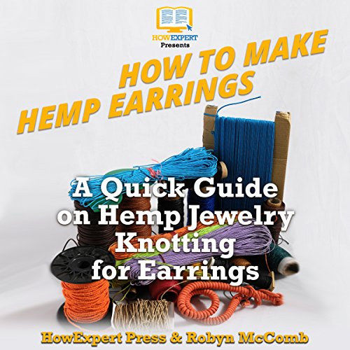 How to Make Hemp Earrings audiobook cover art