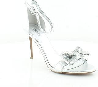 Paris Sandal Silver Metallic Nappa/Sequin 9