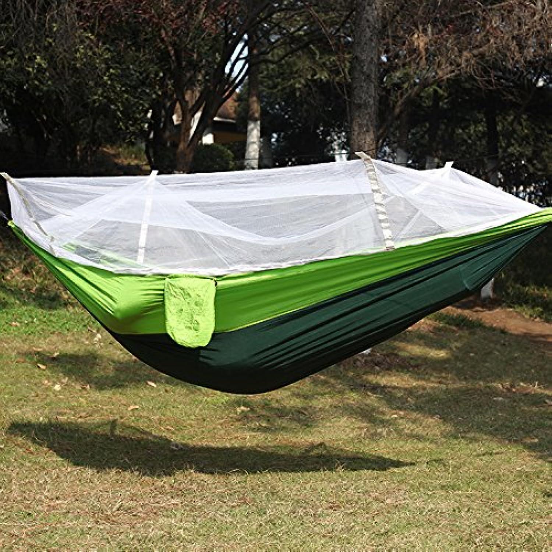 Hammock (2pcs) Double hammock Parachute hammock Outdoor hammock