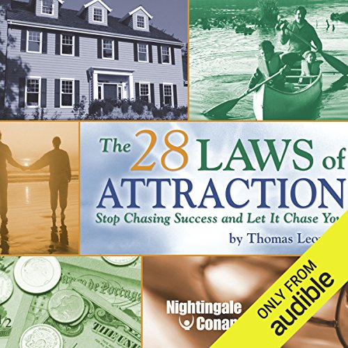 The 28 Laws of Attraction audiobook cover art
