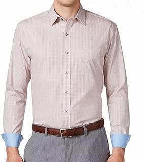 Tasso Elba Mens Large Pocketed Foulard-Print Dress Shirt