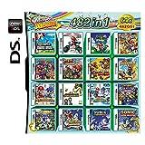 482 en 1 compilaciones de tarjetas NDS Game Pack, tarjeta de juego Super Combo Multicart DS para NDS, NDSL, NDSi, NDSi LL / XL, 3DS, 3DSLL / XL, New 3DS, 2DS, New 1DS