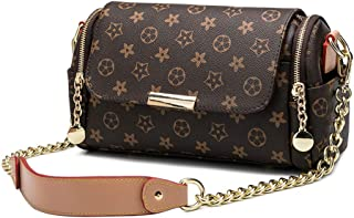 Fashion Women's Chain Handbag Printed Shoulder Messenger Bag-180411#
