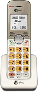AT&T EL50013 Accessory Cordless Handset, Gold/White | Requires AT&T EL52103, EL52203, EL52253, EL52303, EL52353, EL52403, ...