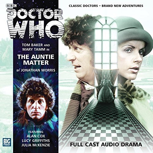 Doctor Who - The Auntie Matter audiobook cover art