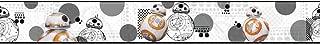 York Wallcoverings Disney Kids III Star Wars BB8 Border, Whites