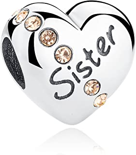 Best sister pandora charm Reviews