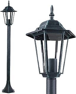 VINTAGE Cortile Casa Porta Vialetto terrazze luci lanterna muro esterno Vetro Lampada
