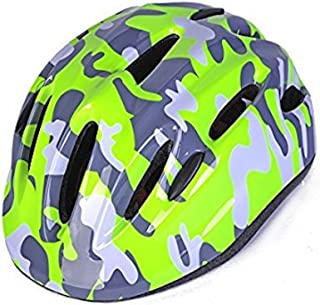 Camouflage Multi-spot Kids Safety Protective Skateboard Bike Skating Helmet Comfortable Adjustable Toddler Teens Youth Girls Boys Cycling Rollerblading scooters 3-5 5-8 years