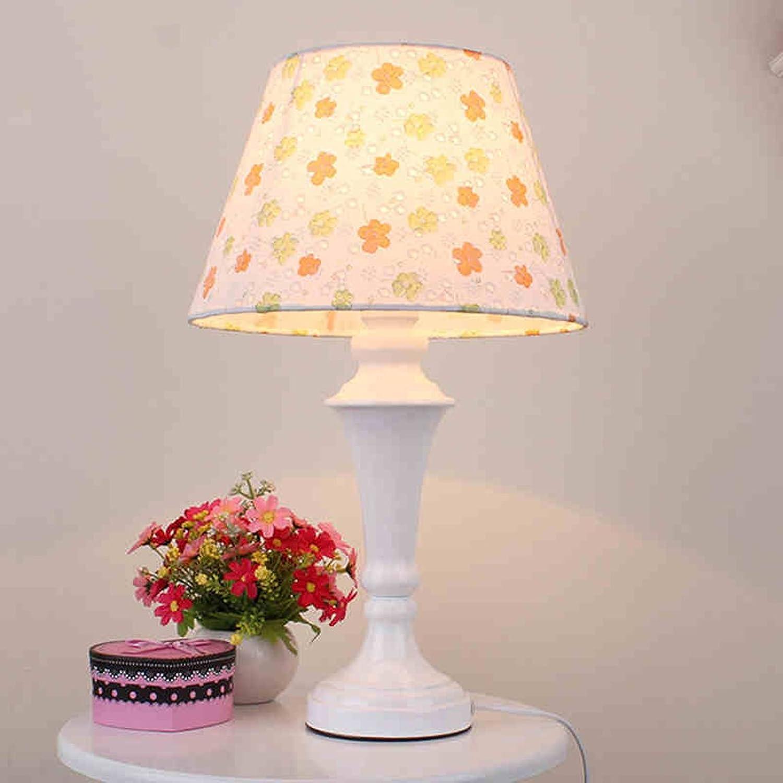 LRW Einfache Nachttischlampe der europischen Schlafzimmer Schreibtischlampe