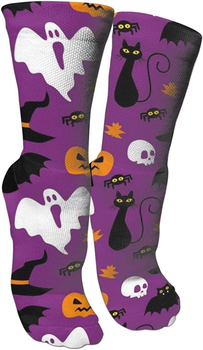 Halloween Novelty Crew Socks Funny Crazy Cotton Elastic Socks For Women And Men