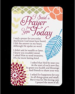 i said a prayer for you today bookmark