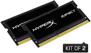 キングストン HX321LS11IB2K2/16 8GBx2枚 DDR3L 2133MHz Non-ECC CL11 1.35V Unbuffered SODIMM 204-pin PC3L-17000