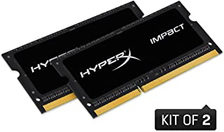 HyperX 16GB (Kit of 2) 2133MHz DDR3L CL11 1.35V SODIMM HyperX Impact Laptop Memory HX321LS11IB2K2/16