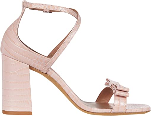 Light Pink Embossed Croco