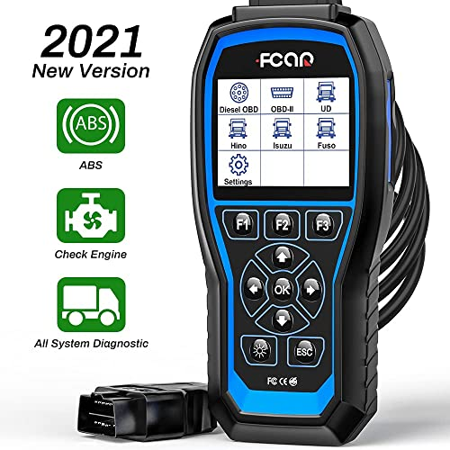 new arrival FCAR F506 Heavy Duty Truck Scanner, All System Truck Code Reader for Almost All Trucks,2 in 1 Car and Truck Diagnostic Scanner, Truck Scan discount Tool for ABS Transmission Check high quality Engine online sale