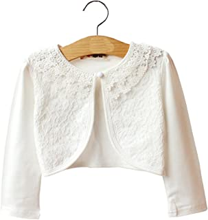 flower girl cardigan