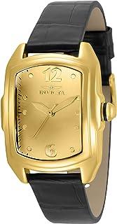 ساعة انفيكتا للنساء لوبا خليط معدني كوارتز مع حزام جلدي، متعدد الألوان 18 موديل 35349