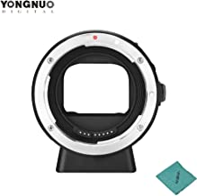 YONGNUO EF-E II Lens Mount Adapter Ring with Auto Focus for Canon EF/EF-S Series & Lens Compatible for Sony E-Mount Camera for Sony a6300 a6000 A7MII A7RIII A7
