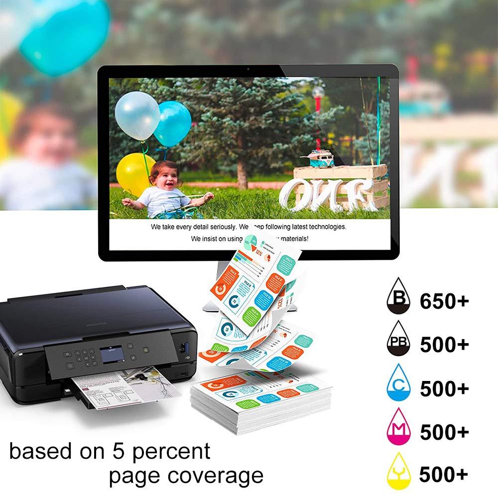 HaloFox 33XL Cartuchos de Tinta para Impresora Epson Expression ...