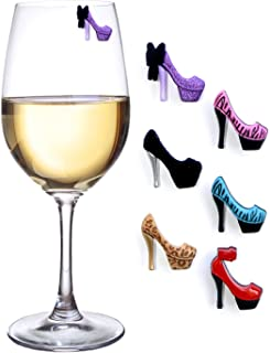 High Heel Wine Charms by Simply Charmed
