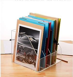 Soporte de exhibición de DVD de acrílico, estante de colección de discos de juegos de barra de teatro - Almacenamiento cla...