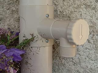 Capt'eau CW-HKRN-UACJ - Recogedor de agua de lluvia para conductos circulares (arena), multicolor