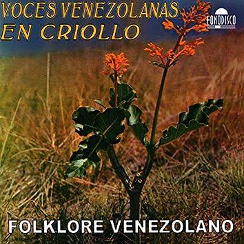 Voces Venezolanas En Criollo
