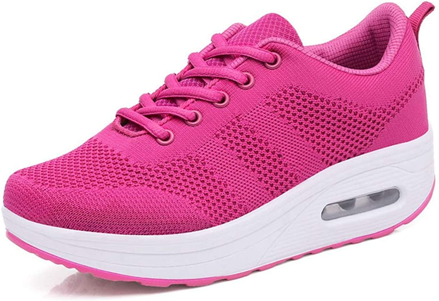 ASO-SLING Women's Lightweight Athletic Running shoes Breathable Air Mesh Upper Sport Fitness Gym Jogging Sneakers