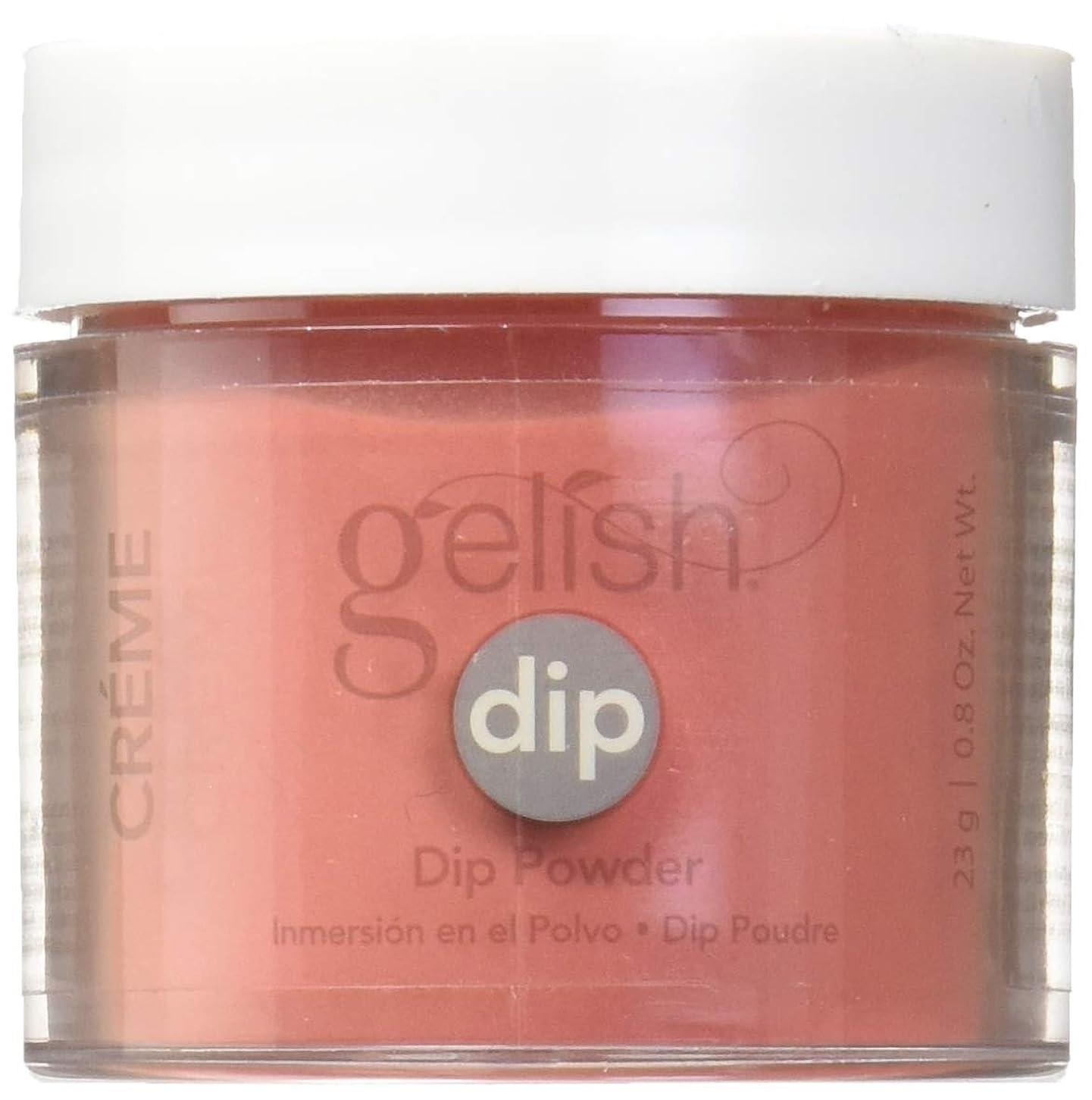 忌み嫌うドライブ泥だらけHarmony Gelish - Acrylic Dip Powder - Fire Cracker - 23g / 0.8oz