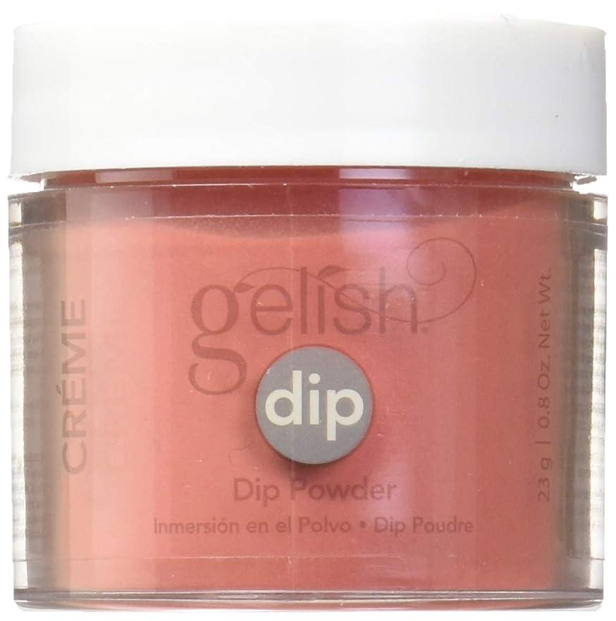 摩擦心理的に一族Harmony Gelish - Acrylic Dip Powder - Fire Cracker - 23g / 0.8oz