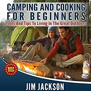 Camping and Cooking audiobook cover art
