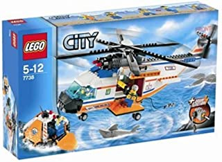 LEGO City Coast Guard Helicopter & Life Raft 7738