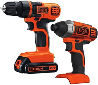black and decker drill and impact driver