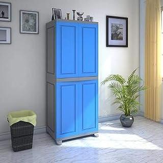 Nilkamal Freedom FB1 Plastic Cabinet Multicolor , 2 Doors