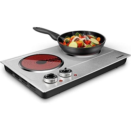 Estufa Cocina Electrica De 2 Hornillas Portatil Para Casa Apartamento Campamento Kitchen Dining